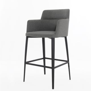 Elite Living Williamsburg Warm Grey Counter Stool