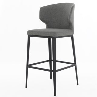 Elite Living Cabo Warm Grey Bar Stool
