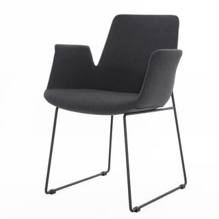 Elite Living Richmond Dark Grey Arm Chair