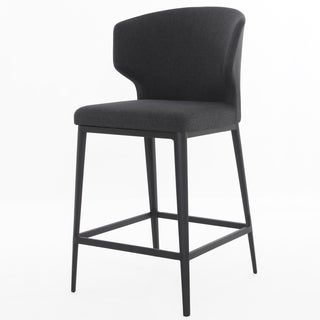Elite Living Cabo Dark Grey Bar Stool