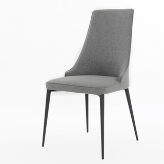 Elite Living Chelsea Warm Grey 2-piece Chair Set