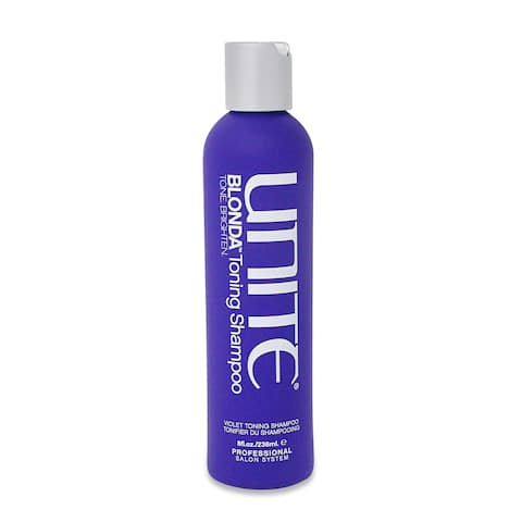 Unite Blonda Toning 8-ounce Shampoo - Grey