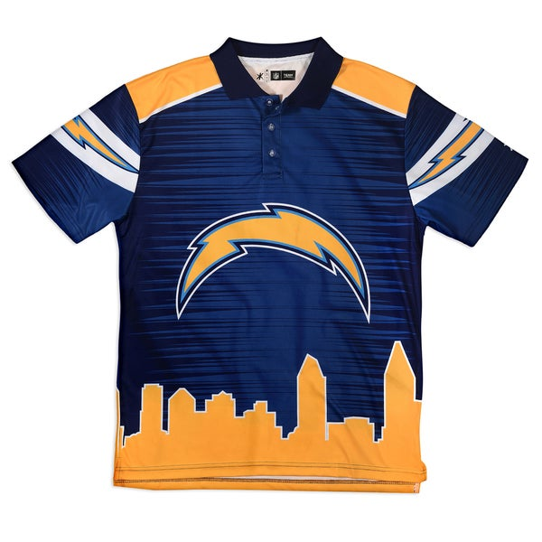 d6e3c9d2 Shop Forever Collectibles San Diego Chargers NFL Polyester Thematic Polo  Shirt - Free Shipping Today - Overstock - 10866962