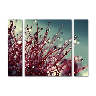 Beata Czyzowska Young 'For You and Me' Three Panel Set Canvas Wall Art