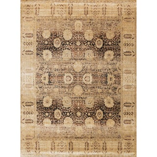 Contessa Coffee/ Gold Rug (13' x 18')