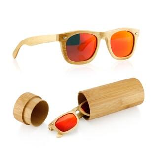 Gearonic Fashion Wooden Bamboo Vintage Sunglasses Eyewear (4 options available)