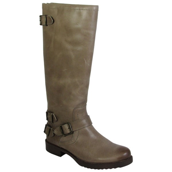 Arturo Chiang Women Ella Leather Riding Boots