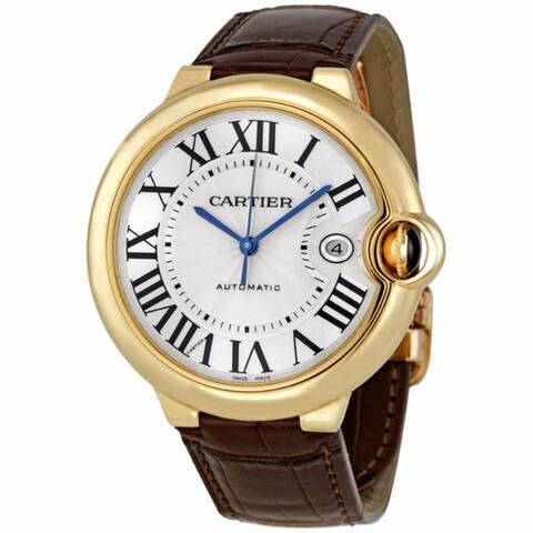 Cartier Men's Ballon Bleu De Cartier Silver Watch