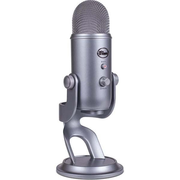 shop blue microphones yeti usb microphone silver free shipping today 10867219. Black Bedroom Furniture Sets. Home Design Ideas