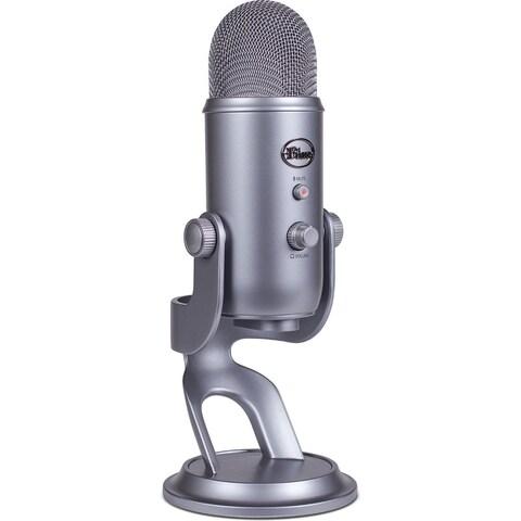Blue Microphones Yeti USB Microphone (Silver)