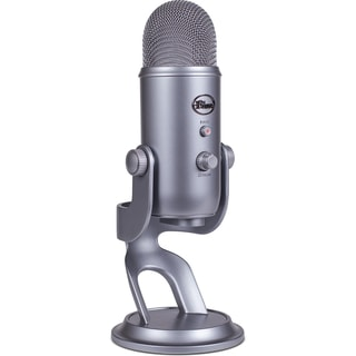 Blue Microphones Yeti USB Microphone (Silver)