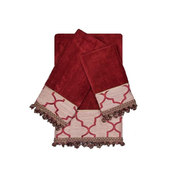 Austin Horn En Vogue Ascot Ruby Red 3 Piece Decorative