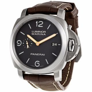 Panerai Men's PAM00351 Luminor Brown Watch