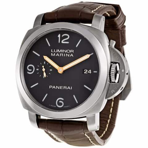 Panerai Men's PAM00351 Luminor Brown Watch