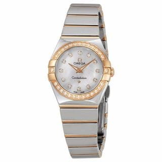 Omega Women's 12325246055005 Constellation Silver Watch