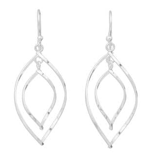 Handmade Sterling Silver Eyes On You Dangling Style Earrings (Thailand)