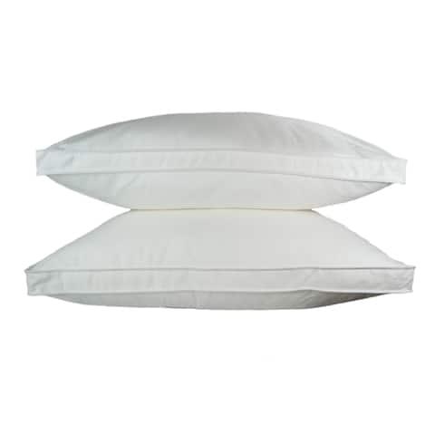 Sherry Kline Gusseted Microfiber Sleeping Pillow (Set of 2)