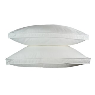Sherry Kline Gusseted Microfiber Sleeping Pillow (Set of 2)