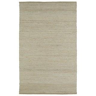 Handmade Ivory Wool & Jute Frisco Rug (3'0 x 5'0)