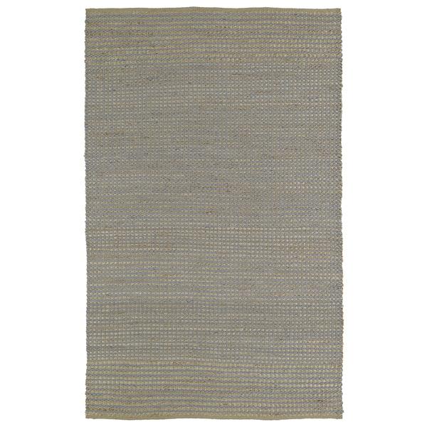 Handmade Slate Wool & Jute Frisco Rug  (3'0 x 5'0)