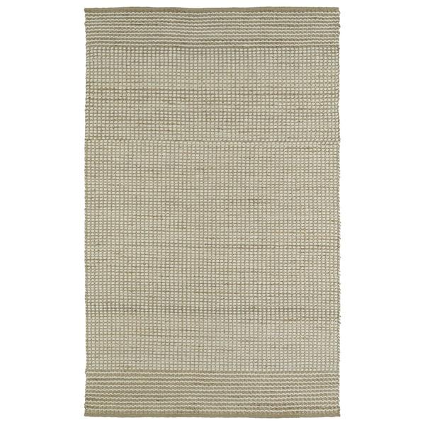 Handmade Ivory Wool & Jute Frisco Rug - 8' x 10'