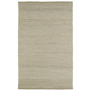 Handmade Ivory Wool & Jute Frisco Rug (8'0 x 10'0)