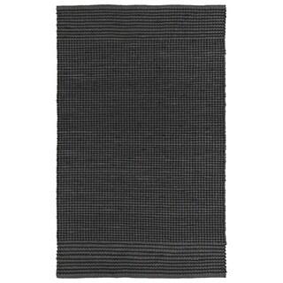 Handmade Charcoal Wool & Jute Frisco Rug (3'0 x 5'0)