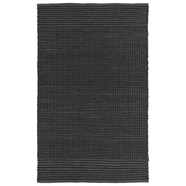 Shop Handmade Charcoal Wool Amp Jute Frisco Rug 5 X 7 6
