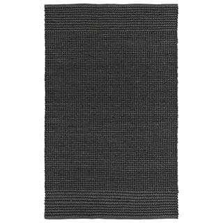Handmade Charcoal Wool & Jute Frisco Rug (8'0 x 10'0)