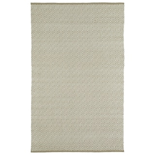 Handmade Camel Wool & Jute Diamonds Frisco Rug (3'0 x 5'0)