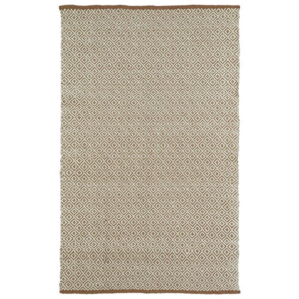 Handmade Multi Wool & Jute Diamonds Frisco Rug - 8' x 10'