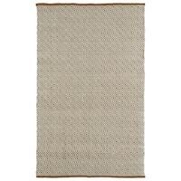 "Handmade Multi Wool & Jute Diamonds Frisco Rug - 5' x 7'6"""