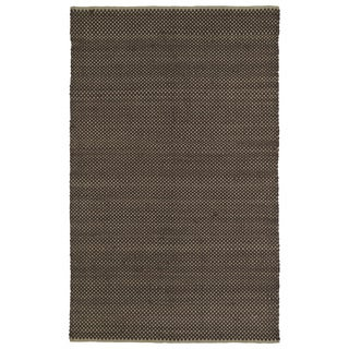 Handmade Chocolate Wool & Jute Frisco Rug (3'0 x 5'0)