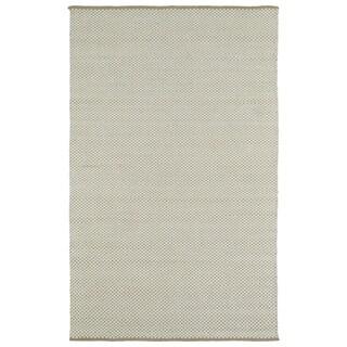 Handmade Camel/Ivory Wool & Jute Frisco Rug (5'0 x 7'6)