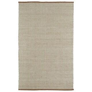 "Handmade Multi/Ivory Wool & Jute Frisco Rug (21"" x 34"")"