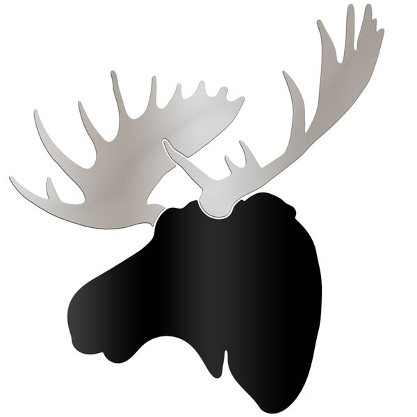 Shop Adam Schwoeppe Urban Moose Large Black Amp Silver