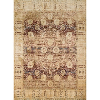 Contessa Red/ Gold Rug (13' x 18')