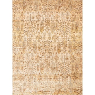 Contessa Antique Ivory/ Gold Rug (2'7 x 4')