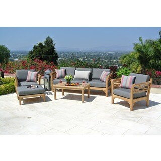 Malibu 5 Person Deep Seating Set