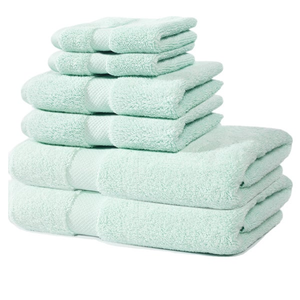 Laurel Zero Twist 650 GSM 6-Piece Towel Set