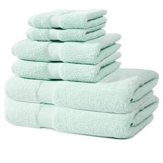Laurel Zero Twist 650 GSM 6-Piece Towel Set