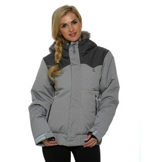 Billabong Women's Silver Sorient 10K Snowboard Jacket