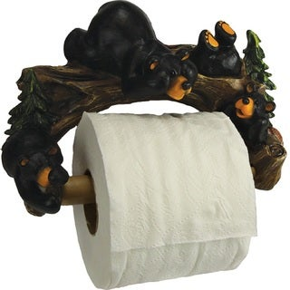 Rivers Edge Cute Bears Wall Mount Toilet Paper Holder
