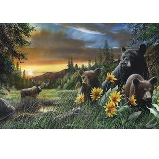 Rivers Edge LED Wall Art Bears/ Moose 24-inch x 16-inch