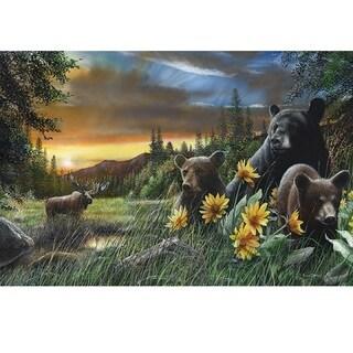 Rivers Edge LED Wall Art Bears/ Moose 24-inch x 16-inch