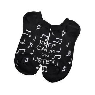 TeeHee Music Lovers Cotton Multi-colored Crew Socks