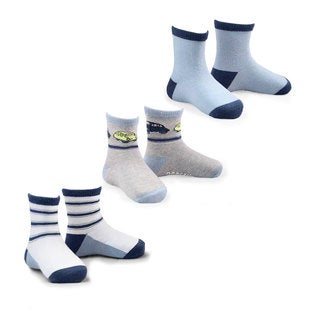 Naartjie Boy's Fashion Socks Multi-colored Multi-pack Fashion Socks
