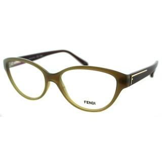Fendi Women's FE 1035 223 Sand Plastic Cateye Eyeglasses