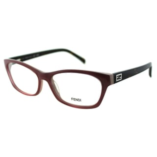 Fendi Women's FE 1032 662 Pink Plastic Cat Eye Eyeglasses