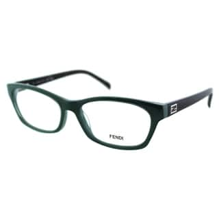 c3e876062a24 Fendi Women s FE 1032 315 Sage  Pastel Plastic Rectangle Eyeglasses